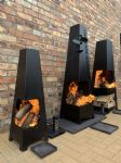fire pit 95cm powder coated